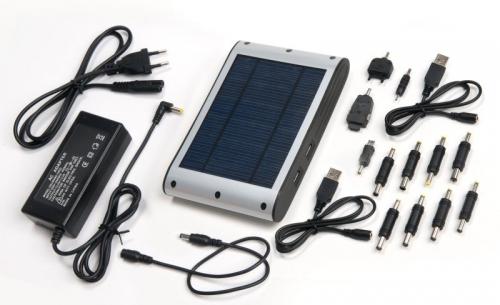c8e3e9598543c Neberte si na cesty nabíjačku, možno vám ani nepomôže. Solárna nabíjačka  nie je závislá od zásuviek, elektrinu si vyrobí zo svetla.