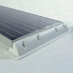 BASIC-CAR: Sada PVC strešných držiakov FV panelu na karaván S=550mm SOLARA