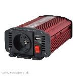 uBASIC-MCH: Menič napätia 1F DC/AC/USB Modifikovaný Sínus DC=12V/AC~230V-50Hz CARSPA P-300W