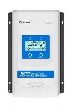 Regulátor nabíjania MPPT FVP-2xAKU-SPT EPSOLAR DuoRacer DS1206N DC=12-24V/I-10A