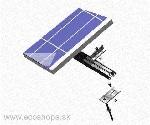 uBASIC-MCH: Univerzálny ALU strešný držiak FV panelu S=1000mm SCHLETTER