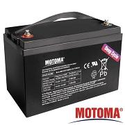 Akumulátor Energie BezÚ Olovený AGM PbH2SO4 MOTOMA MS-12V100D DC=12V/Cap-100Ah