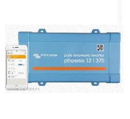 BASIC-SHIP: Menič napätia DC/AC Čistý Sínus DC=12V/AC~230V VICTRON ENERGY Phoenix Ve.D 375VA