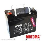 Akumulátor Energie BezÚ Olovený AGM PbH2SO4 MOTOMA SLA12V33TMF/20h DC=12V/Cap-33Ah