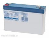 Akumulátor energie BezÚ Olovený GEL PbH2SO4 EMOS 6V/7Ah GT6-7/20h