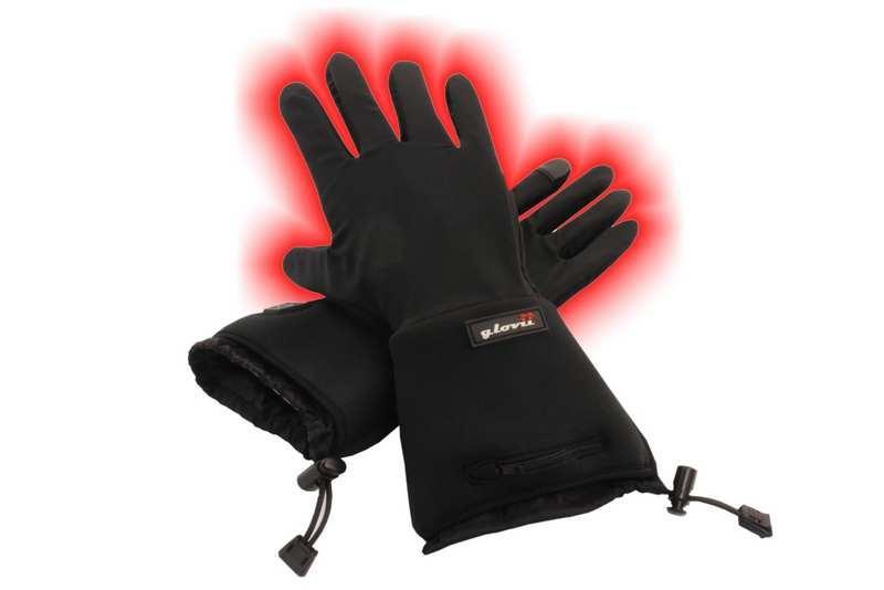 VOB Vyhrievané univerzálne rukavice CFiB3-7W  LiPoly-2.1Ah GLOVII GL2 Čierna 98c78b307a