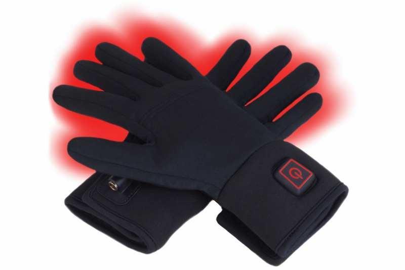VOB Vyhrievané motorkárske rukavice CFiB4-12W noPb-12V GLOVII GM2 Čierna 283ca55c3d