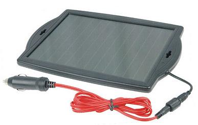 Solárny FV amorfný prenosný panel 1.8W/12V INVISUA VSSP18WBC - 1